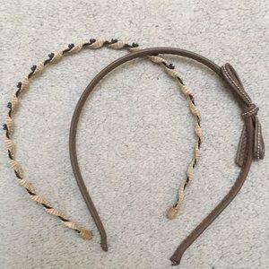 BUNDLE minimal design headbands